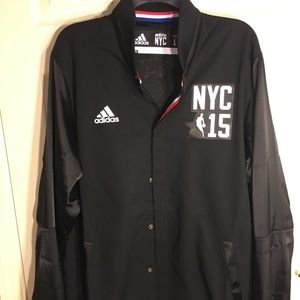 Adidas NBA All-Star 2015 Warm-Up Button-Up Jacket